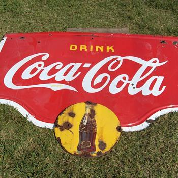 1938 Coca Cola Sign