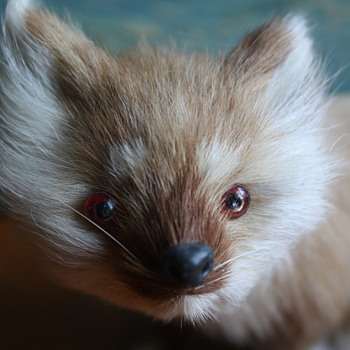 Fur Fox Figurine