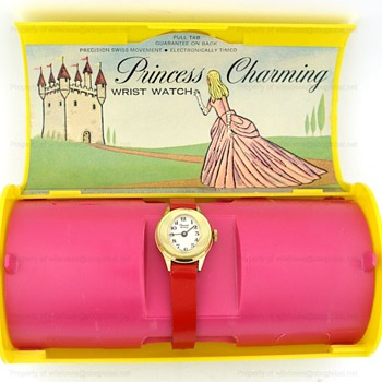 1967 Bradley PRINCESS CHARMING Watch in Original Box - Wristwatches