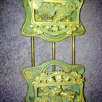 Adjustable Cast Iron book ends - Books