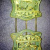 Adjustable Cast Iron book ends