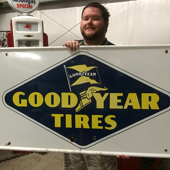 GoodYear tires sign 1948 - Signs