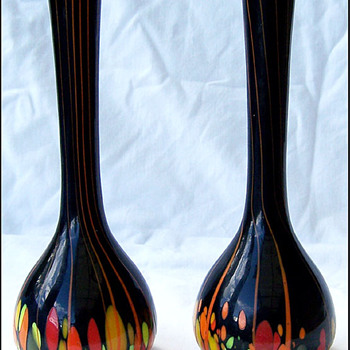 KRALIK SPOTS AND STRIPES  - Art Glass