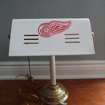 Desk Lamp - Toronto Red Wings AAA  Hockey Club  :)) - Lamps