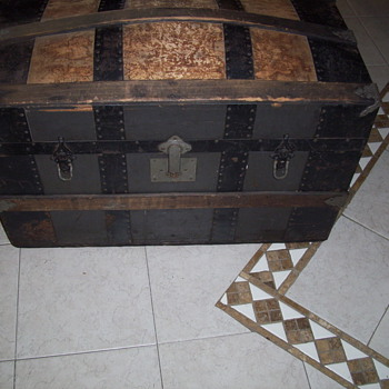 Restored Dome Top Trunk