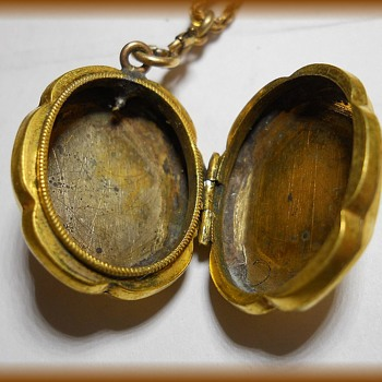 Granny's --- Necklace and Locket  - Fine Jewelry
