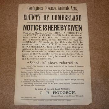 Rare English Poster