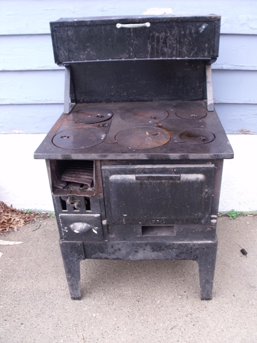 Old Sears Roebuck Amp Co Wood Burning Cook Stove
