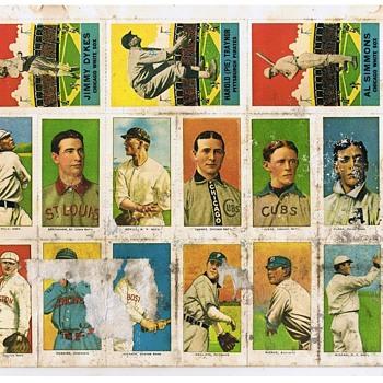 goudey, delong gum co. baseball cards - Baseball