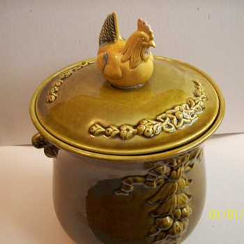 FLEA MARKET COOKIE JAR