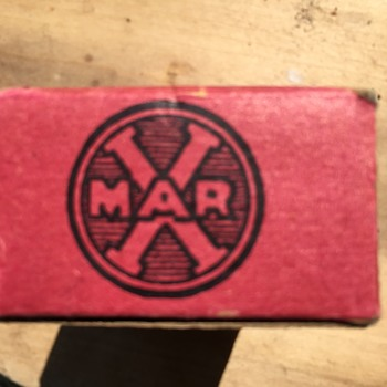 Can't find what these are for anywhere, help Marx wooden ammunition