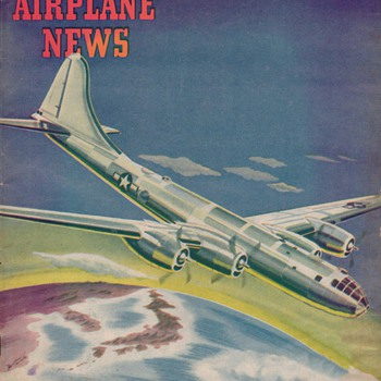 1944 - Model Airplane News magazine - September - Paper