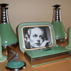 Art Deco Depression Green Objects