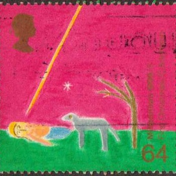 "1999 - Britain ""Christian Christmas"" Postage Stamp - Stamps"
