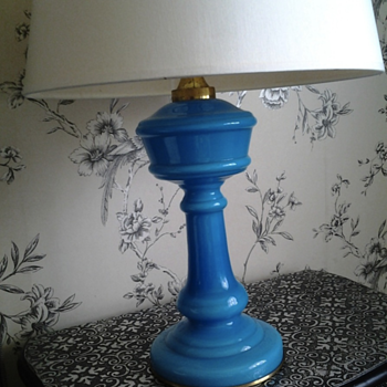 My favourite turquise table lamp