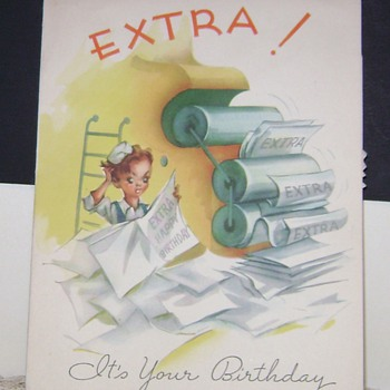 1940's Birthday Cards - Cards