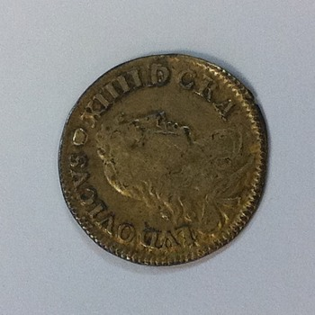 1675 french coin unknown metal