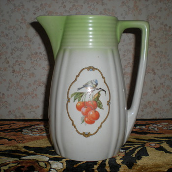 Bulgarian Art Deco porcelain jug!