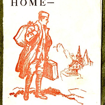 When You Go Home - WWI VD Pamphlet - Military and Wartime