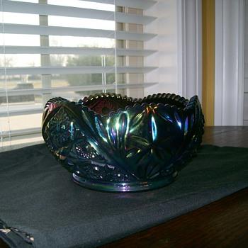 Blue carnival bowl!