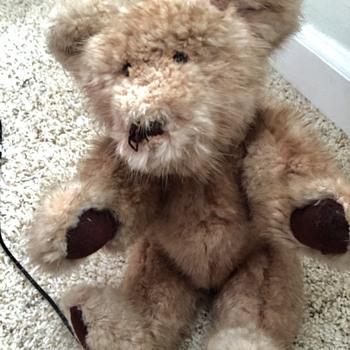 Old Bear Made Of Mink - Dolls