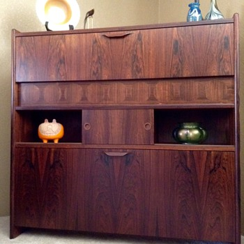 Danish Modern Rosewood Bar