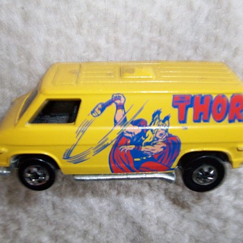 Thor Van Diecast Vehicle 1977-1978 - Model Cars