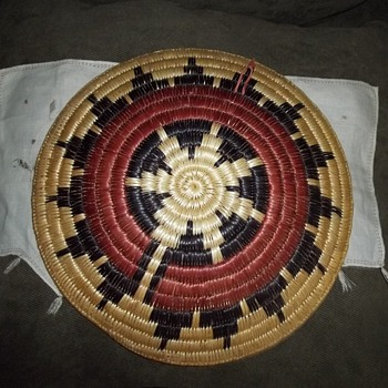 Navaho Wedding Basket - Native American