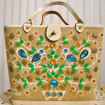 "Enid Collins ""It grows on trees"" handbag"
