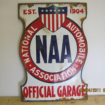 NAA sign - Signs