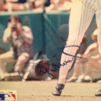 Signed Photo of Darryl Strawberry - Baseball