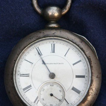 1884 Hampden pocket watch