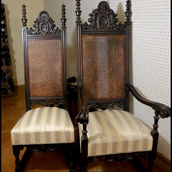 Two antique chairs - Furniture