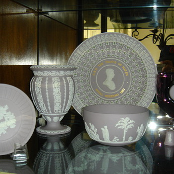 Wedgwood Lilac Jasperware Collection