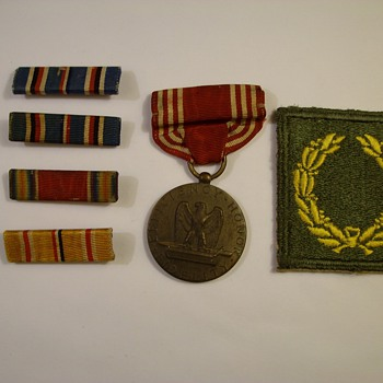 A Few More Bars & Patches From My Dads World War Two Years - Military and Wartime