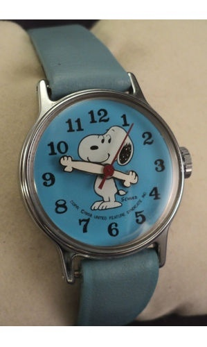 Timex snoopy child 39 s watch circa 1969 collectors weekly for Snoopy watches