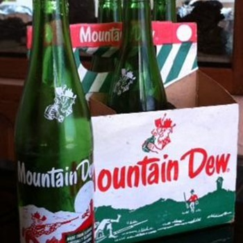 Vintage Mountain Dew - Bottles