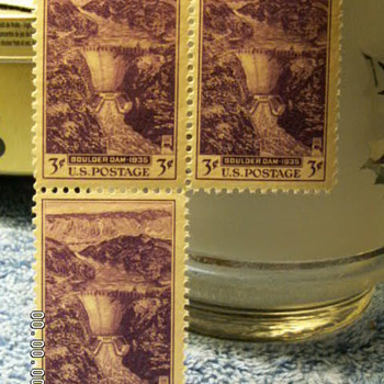 1935 Boulder Dam 3¢ Stamps