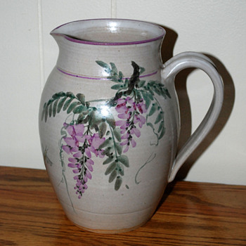 Art Pottery Pitcher - Pottery