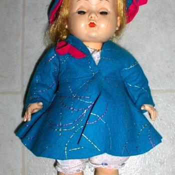 "VIntage 11"" Doll"