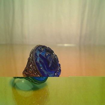 blue ring - Costume Jewelry