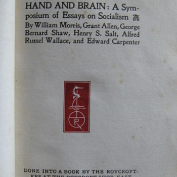 Hand & Brain...Roycroft Press