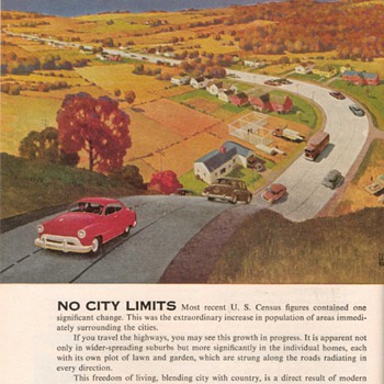 1951 - Budd Transportation Advertisement