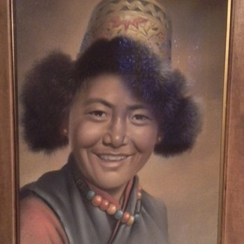Tibetan Boy- Goray Douglas