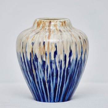 Drip-Glaze Vase, Early 20th Century (?) - Help Needed - Pottery