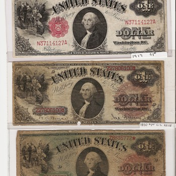 My favorite George Washington bill.    - US Paper Money