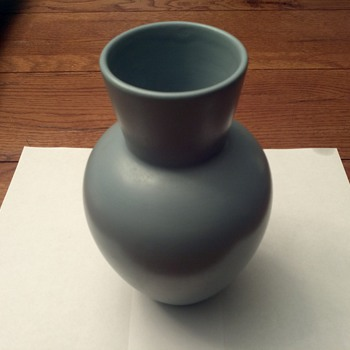 Blue made in portugal vase - Art Pottery