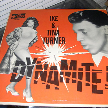 IKE AND TINA TURNER DYNAMITE SUE RECORDS LP 2004 - Records