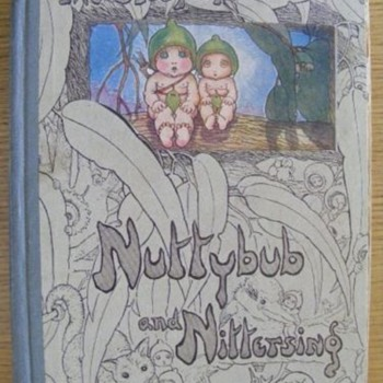 Nuttybub &amp; Nittersing - 1st edition -May Gibbs 1923 - Books