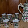 Maple Leaf Moriage Nippon Chocolate Tea Set Unknown Pattern???